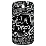 Panic ! At The Disco Lyric Quotes Samsung Galaxy S3 S III Classic Hardshell Back Case Front