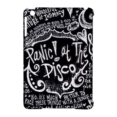 Panic ! At The Disco Lyric Quotes Apple iPad Mini Hardshell Case (Compatible with Smart Cover)