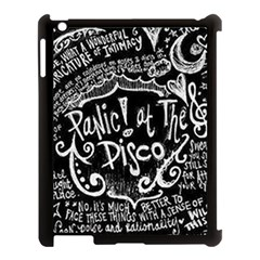 Panic ! At The Disco Lyric Quotes Apple Ipad 3/4 Case (black)