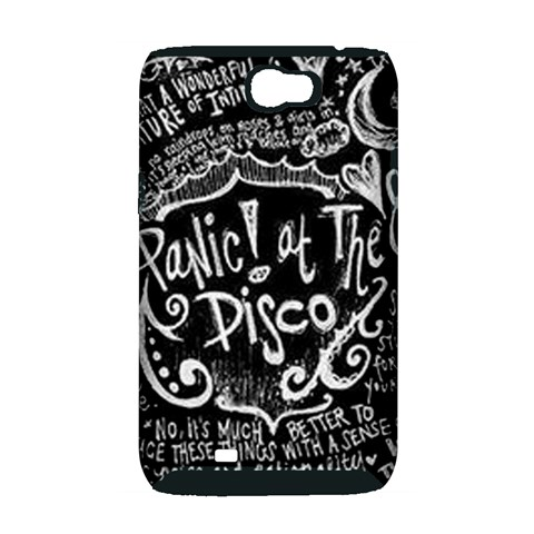Panic ! At The Disco Lyric Quotes Samsung Galaxy Note 2 Hardshell Case (PC+Silicone)