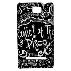 Panic ! At The Disco Lyric Quotes HTC 8S Hardshell Case