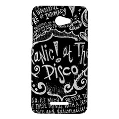 Panic ! At The Disco Lyric Quotes HTC Butterfly X920E Hardshell Case