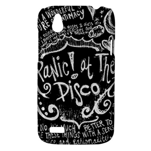 Panic ! At The Disco Lyric Quotes HTC Desire V (T328W) Hardshell Case