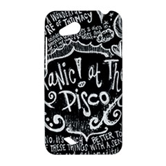 Panic ! At The Disco Lyric Quotes HTC Desire VC (T328D) Hardshell Case