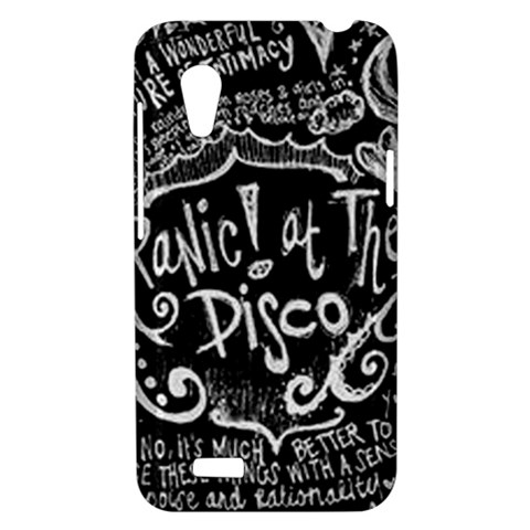Panic ! At The Disco Lyric Quotes HTC Desire VT (T328T) Hardshell Case