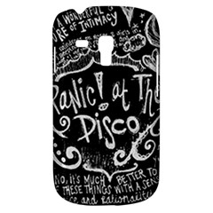 Panic ! At The Disco Lyric Quotes Samsung Galaxy S3 Mini I8190 Hardshell Case