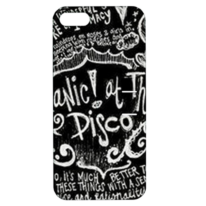 Panic ! At The Disco Lyric Quotes Apple iPhone 5 Hardshell Case with Stand
