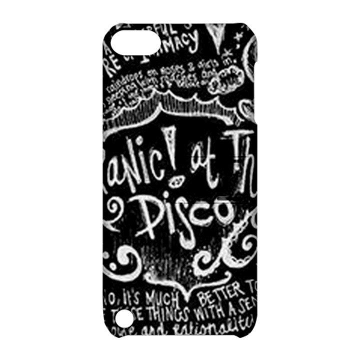 Panic ! At The Disco Lyric Quotes Apple iPod Touch 5 Hardshell Case with Stand