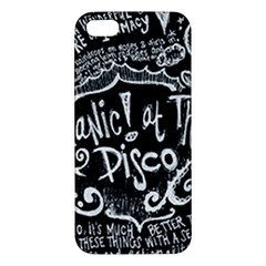 Panic ! At The Disco Lyric Quotes Apple iPhone 5 Premium Hardshell Case