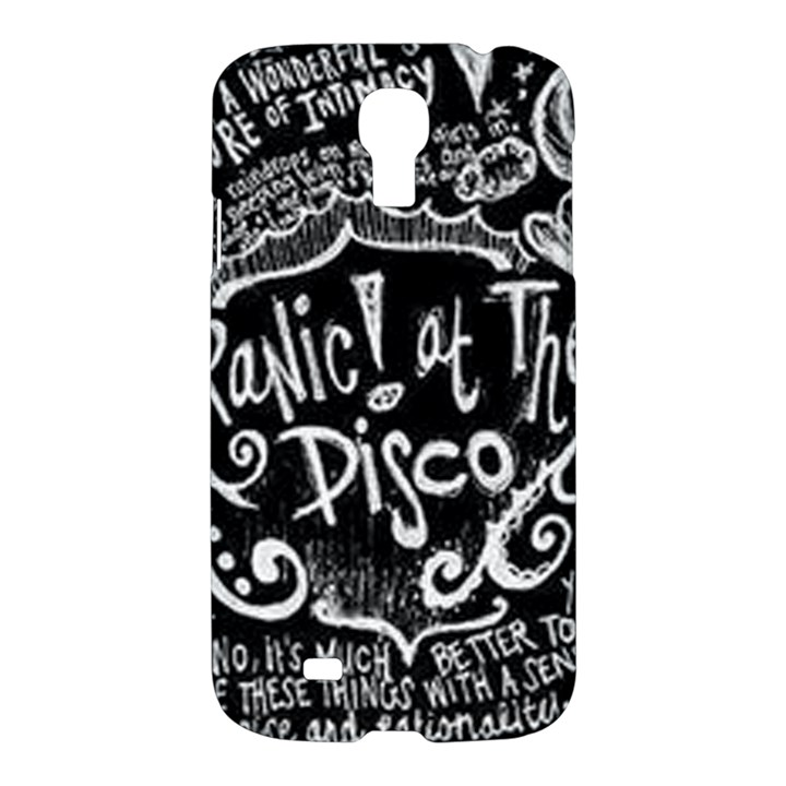 Panic ! At The Disco Lyric Quotes Samsung Galaxy S4 I9500/I9505 Hardshell Case
