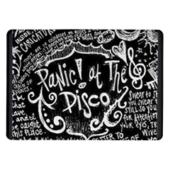 Panic ! At The Disco Lyric Quotes Samsung Galaxy Tab 10 1  P7500 Flip Case