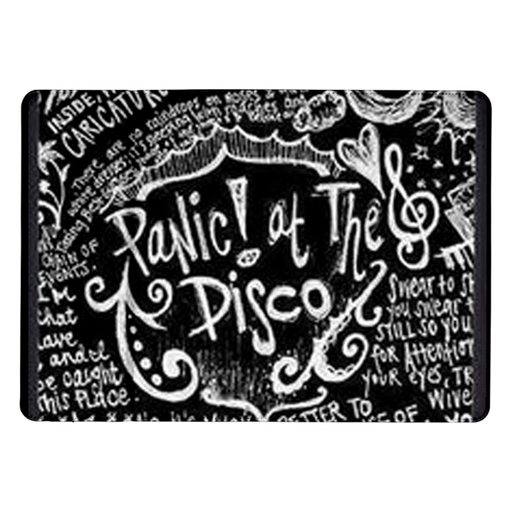 Panic ! At The Disco Lyric Quotes Samsung Galaxy Tab 10.1  P7500 Flip Case