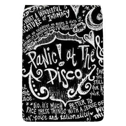 Panic ! At The Disco Lyric Quotes Flap Covers (L)