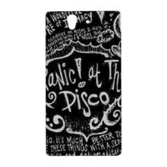 Panic ! At The Disco Lyric Quotes Sony Xperia Z