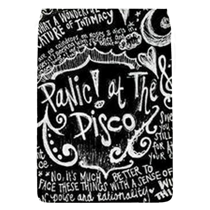 Panic ! At The Disco Lyric Quotes Flap Covers (S)