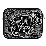 Panic ! At The Disco Lyric Quotes Apple iPad 2/3/4 Zipper Cases Front