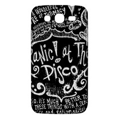 Panic ! At The Disco Lyric Quotes Samsung Galaxy Mega 5 8 I9152 Hardshell Case