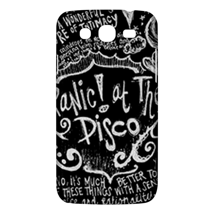 Panic ! At The Disco Lyric Quotes Samsung Galaxy Mega 5.8 I9152 Hardshell Case