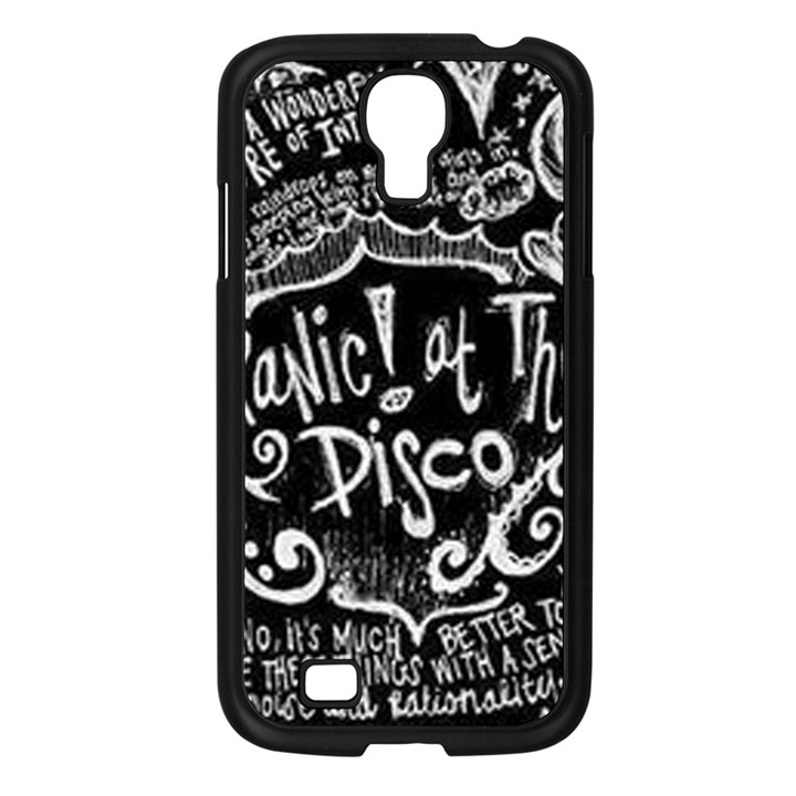 Panic ! At The Disco Lyric Quotes Samsung Galaxy S4 I9500/ I9505 Case (Black)