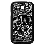 Panic ! At The Disco Lyric Quotes Samsung Galaxy Grand DUOS I9082 Case (Black) Front