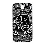 Panic ! At The Disco Lyric Quotes Samsung Galaxy S4 I9500/I9505  Hardshell Back Case Front