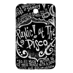 Panic ! At The Disco Lyric Quotes Samsung Galaxy Tab 3 (7 ) P3200 Hardshell Case
