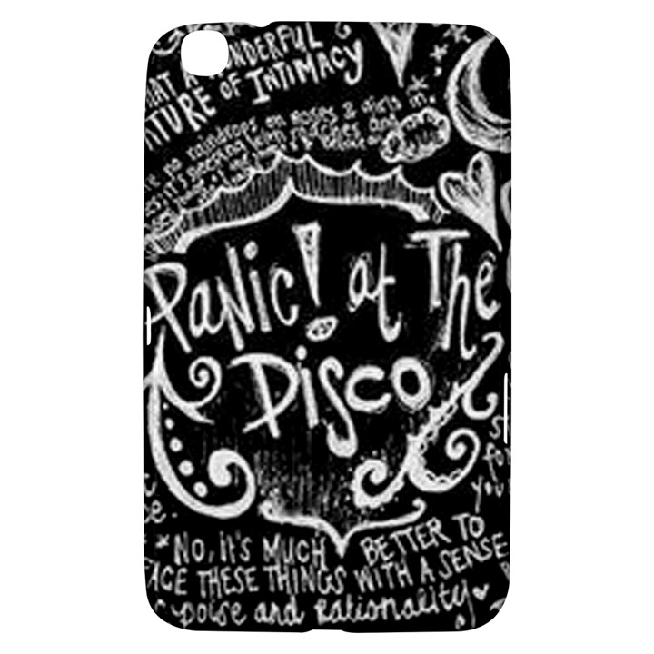 Panic ! At The Disco Lyric Quotes Samsung Galaxy Tab 3 (8 ) T3100 Hardshell Case
