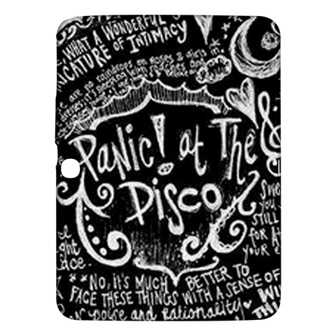 Panic ! At The Disco Lyric Quotes Samsung Galaxy Tab 3 (10.1 ) P5200 Hardshell Case