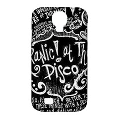 Panic ! At The Disco Lyric Quotes Samsung Galaxy S4 Classic Hardshell Case (PC+Silicone)