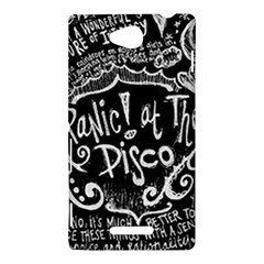 Panic ! At The Disco Lyric Quotes Sony Xperia C (S39H)