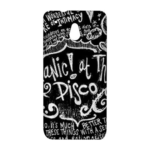 Panic ! At The Disco Lyric Quotes HTC One Mini (601e) M4 Hardshell Case