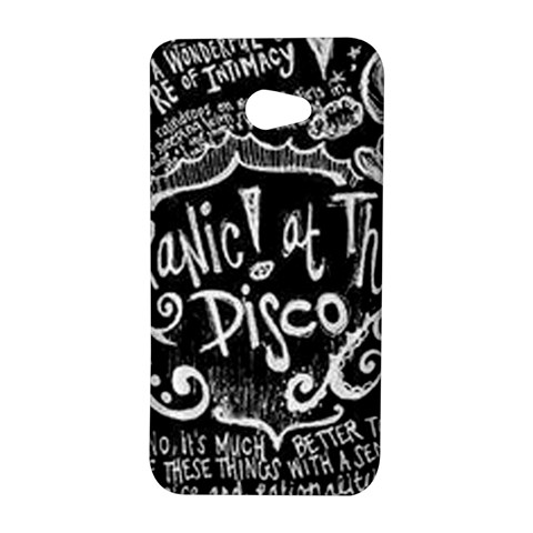 Panic ! At The Disco Lyric Quotes HTC Butterfly S/HTC 9060 Hardshell Case