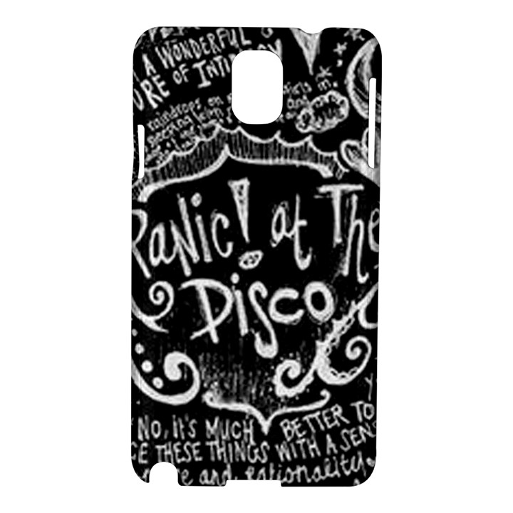 Panic ! At The Disco Lyric Quotes Samsung Galaxy Note 3 N9005 Hardshell Case