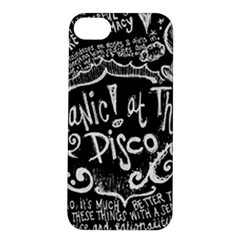 Panic ! At The Disco Lyric Quotes Apple iPhone 5S/ SE Hardshell Case