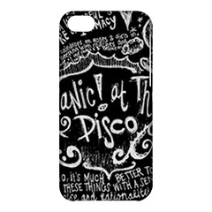 Panic ! At The Disco Lyric Quotes Apple iPhone 5C Hardshell Case