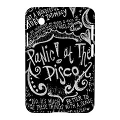 Panic ! At The Disco Lyric Quotes Samsung Galaxy Tab 2 (7 ) P3100 Hardshell Case