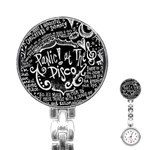 Panic ! At The Disco Lyric Quotes Stainless Steel Nurses Watch Front