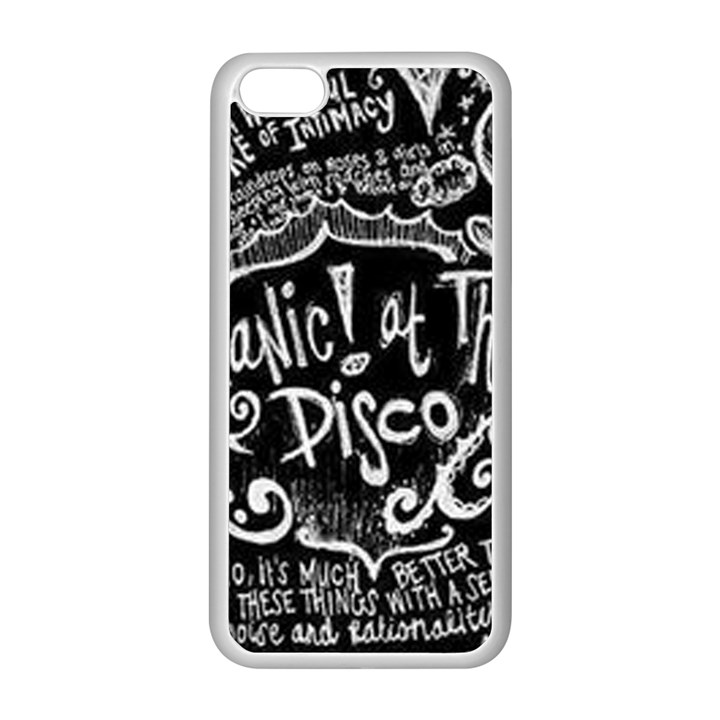 Panic ! At The Disco Lyric Quotes Apple iPhone 5C Seamless Case (White)