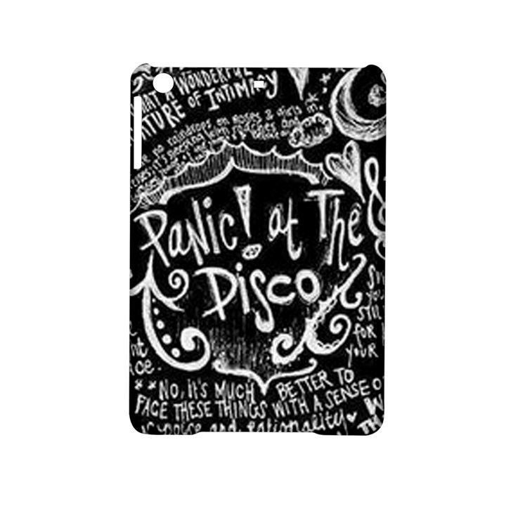 Panic ! At The Disco Lyric Quotes iPad Mini 2 Hardshell Cases
