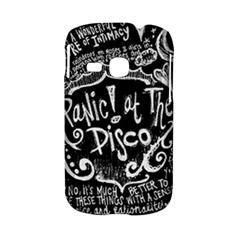 Panic ! At The Disco Lyric Quotes Samsung Galaxy S6310 Hardshell Case