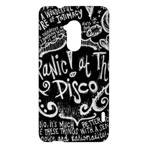 Panic ! At The Disco Lyric Quotes HTC One Max (T6) Hardshell Case