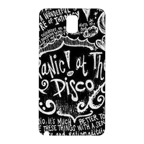 Panic ! At The Disco Lyric Quotes Samsung Galaxy Note 3 N9005 Hardshell Back Case