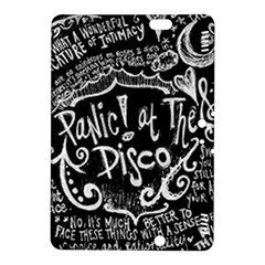 Panic ! At The Disco Lyric Quotes Kindle Fire Hdx 8 9  Hardshell Case