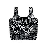 Panic ! At The Disco Lyric Quotes Full Print Recycle Bags (S)  Back