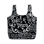 Panic ! At The Disco Lyric Quotes Full Print Recycle Bags (M)  Back