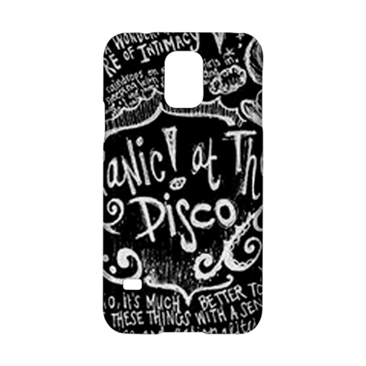 Panic ! At The Disco Lyric Quotes Samsung Galaxy S5 Hardshell Case