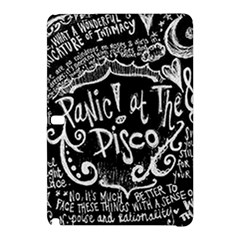 Panic ! At The Disco Lyric Quotes Samsung Galaxy Tab Pro 10.1 Hardshell Case