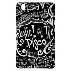 Panic ! At The Disco Lyric Quotes Samsung Galaxy Tab Pro 8.4 Hardshell Case