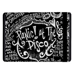 Panic ! At The Disco Lyric Quotes Samsung Galaxy Tab Pro 12 2  Flip Case