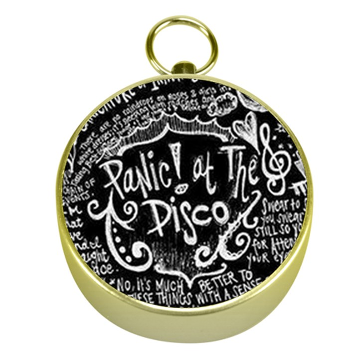 Panic ! At The Disco Lyric Quotes Gold Compasses
